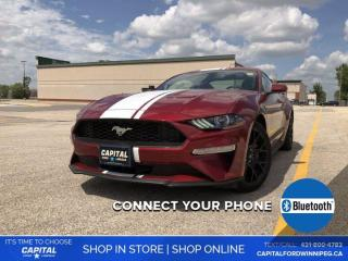 Used 2018 Ford Mustang EcoBoost *No Accidents *LED Headlights for sale in Winnipeg, MB