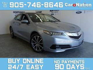 Used 2016 Acura TLX SH-AWD V6 TECH | LEATHER | ROOF | NAV | ONLY 25KM! for sale in Brantford, ON
