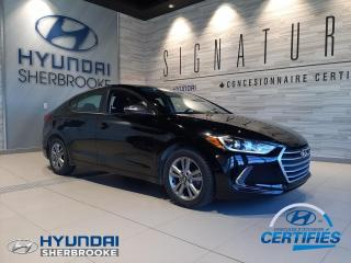 Used 2017 Hyundai Elantra GL+CAMERA+VOLANT/BANCS CHAUFFANTS for sale in Sherbrooke, QC