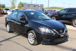Used 2019 Nissan Sentra SV CVT CAMÉRA*SIÈGES CHAUFFANT-AIR DOUBL for sale in Lévis, QC