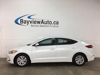 Used 2017 Hyundai Elantra LE - AUTO! HTD SEATS! REVERSE CAM! ONLY 11,000KMS! for sale in Belleville, ON
