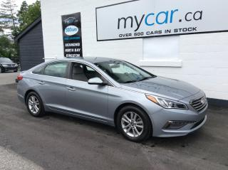 Used 2015 Hyundai Sonata GLS HEATED PWR SEAT, ALLOYS, BACKUP CAM!! for sale in Richmond, ON