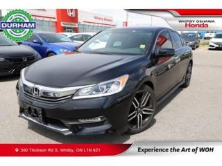Used 2017 Honda Accord Sport for sale in Whitby, ON