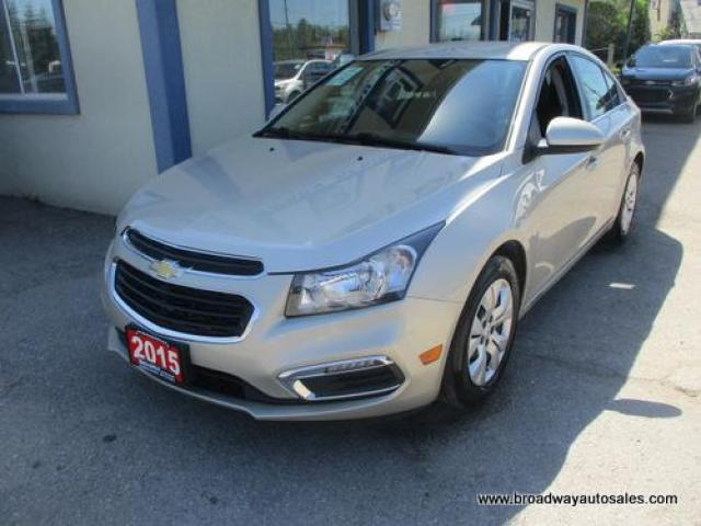 2015 Chevrolet Cruze GREAT KM'S LT MODEL 5 PASSENGER 1.4L - TURBO.. TOUCH SCREEN.. BACK-UP CAMERA.. BLUETOOTH SYSTEM.. AUX/USB INPUT.. KEYLESS ENTRY..