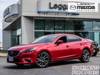 Used 2017 Mazda MAZDA6 GT- PREMIUM PKG, LEATHER, MOONROOF, BOSE, BLUETOOTH, REAR CAMERA for sale in Burlington, ON