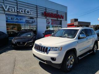 Used 2011 Jeep Grand Cherokee Limited ** UN SEUL PROPRIO + CAMERA DE RECUL + CUIR *** for sale in Val-d'Or, QC