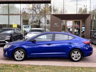 Used 2020 Hyundai Elantra PREFERRED w/ BLIND SPOT DETECTION / BACK-UP CAM. for sale in Calgary, AB