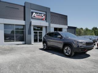 Used 2019 Jeep Cherokee Trailhawk V6 4x4 + GPS + BAS KILO for sale in Sherbrooke, QC
