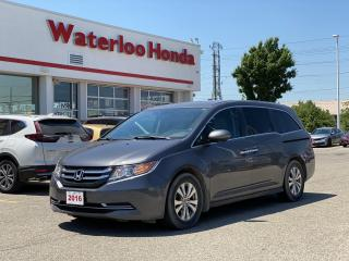 Used 2016 Honda Odyssey One Owner Odyssey EX-L With Navigation! Certified Powertrain Warranty Until 10/20/2023 or 160,000KM! for sale in Waterloo, ON