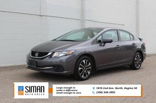 Used 2015 Honda Civic EX CLEARANCE PRICED for sale in Regina, SK