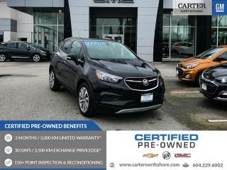 Used 2017 Buick Encore Preferred POWER DRIVER SEAT - REAR VIEW CAMERA - BLUETOOTH for sale in North Vancouver, BC