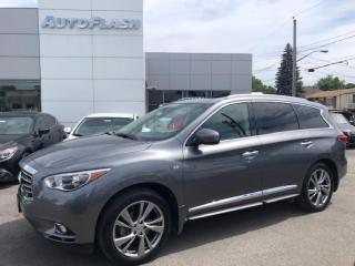 Used 2015 Infiniti QX60 Tech-Pkg *Blind-Spot *Lane-Assist *DVD *FULL!! for sale in St-Hubert, QC
