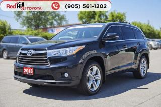 Used 2016 Toyota Highlander LIMITED  for sale in Hamilton, ON
