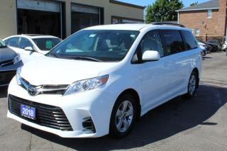 Used 2018 Toyota Sienna LE 8 PASSENGERS for sale in Brampton, ON