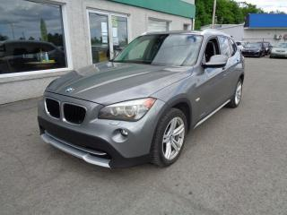 Used 2012 BMW X1 5028i 4 portes à traction intégrale for sale in St-Jérôme, QC