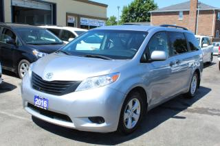 Used 2016 Toyota Sienna L for sale in Brampton, ON
