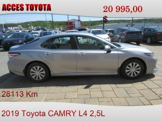 Used 2019 Toyota Camry FAITES VITE for sale in Rouyn-Noranda, QC