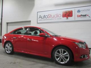 Used 2014 Chevrolet Cruze 2LT**AUTOMATIQUE**CAMERA RECUL for sale in Mirabel, QC