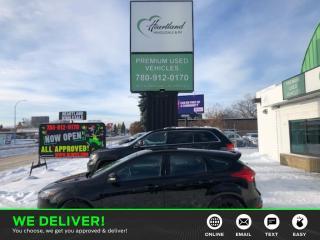 Used 2016 Ford Focus BACK UP CAMERA | REMOTE START | SPORT PACKAGE-USED EDMONTON FORD DEALER for sale in Edmonton, AB