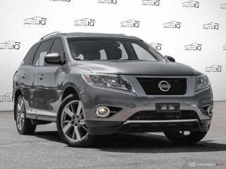 Used 2014 Nissan Pathfinder Platinum 3.5L V6 | LEATHER | NAVIGATION for sale in Oakville, ON