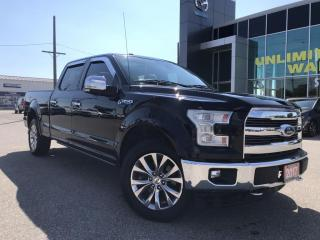 Used 2017 Ford F-150 Lariat SuperCrew 4x4 5.0L V8 Long Box for sale in Chatham, ON