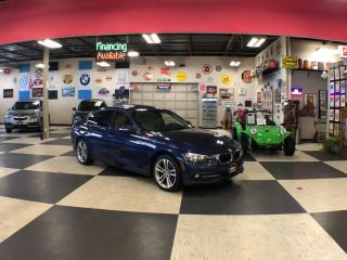 Used 2016 BMW 3 Series 320I X DRIVE SPORT PKG AUT0 P/SUNROOF P/SEAT CAMERA for sale in North York, ON