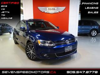 Used 2013 Volkswagen Jetta Sedan TDI HIGHLINE | CERTIFIED | FINANCE @ 4.65% for sale in Oakville, ON