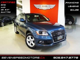 Used 2016 Audi Q5 Q5 | ACCIDENT FREE | QUATTRO | CERTIFIED | FINANCE @ 4.65% for sale in Oakville, ON