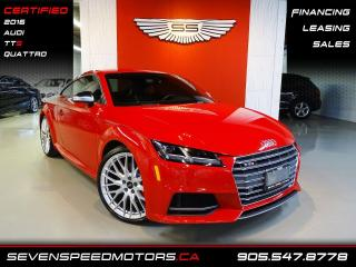 Used 2016 Audi TTS TTS QUATTRO | TANGO RED | CERTIFIED | FINANCE @ 4.65% for sale in Oakville, ON