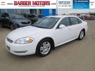 Used 2012 Chevrolet Impala LT for sale in Weyburn, SK