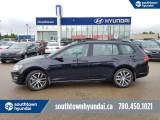 Used 2017 Volkswagen Golf Sportwagen HIGHLINE/LEATHER/PANO SUNROOF/BACKUP CAM for sale in Edmonton, AB