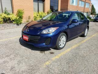 Used 2012 Mazda MAZDA3 GX SKY | ACCIDENT FREE | LOW MILEAGE | CLEAN CAR for sale in Richmond Hill, ON