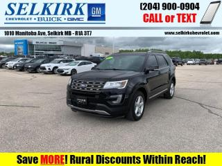 Used 2017 Ford Explorer XLT  - Heated Seats -  Bluetooth for sale in Selkirk, MB