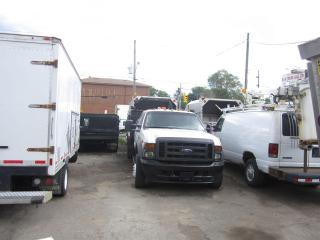 Used 2007 Ford F-550 4x4  4 door  pto rear power tial gate for sale in North York, ON