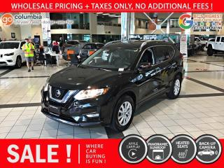 Used 2019 Nissan Rogue SV AWD - Local / No Accident / Pano Sunroof for sale in Richmond, BC