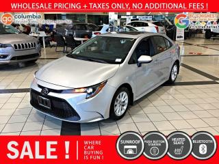 Used 2020 Toyota Corolla LE - Sunroof / No Accident / Local for sale in Richmond, BC
