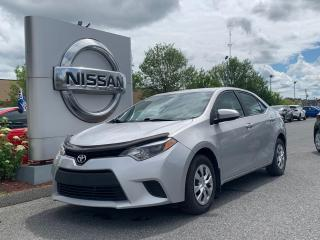 Used 2015 Toyota Corolla CE for sale in Drummondville, QC