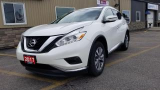 Used 2017 Nissan Murano NAVIGATION-HEATED SEATS-1 OWNER OFF LEASE-REAR CAM for sale in Tilbury, ON