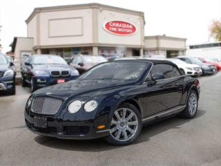 Used 2008 Bentley Continental GTC CONVERTIBLE | CLEAN CAR FAX | EXTRA EXTRA CLEA for sale in Scarborough, ON