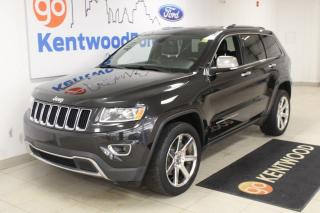 Used 2014 Jeep Grand Cherokee 3 MONTH DEFERRAL! *oac | Limited | 4x4 | Leather | Sunroof | Aftermarket RiMS! for sale in Edmonton, AB