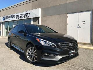Used 2015 Hyundai Sonata SPORT TECH-NAVI-LEAHER-SUNROOF for sale in Toronto, ON