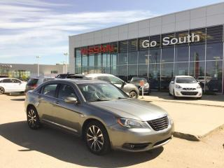 Used 2012 Chrysler 200 S, LEATHER, NAVIGATION, SUNROOF for sale in Edmonton, AB
