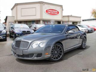 Used 2010 Bentley Continental GTC RED LEATHER INT | NAVI | CAM | SUPER CONDITION for sale in Scarborough, ON