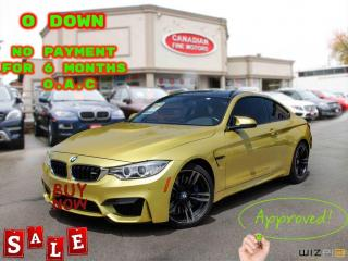 Used 2016 BMW M4 6 SP MAN RARE | COUPE | NAVI | 425 HP | CAM | for sale in Scarborough, ON