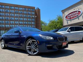 Used 2014 BMW 6 Series M SPORT PKG | NAVI | CAM | PANO | GRAN COUPE | AWD for sale in Scarborough, ON