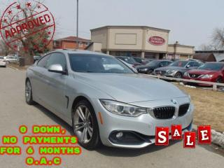 Used 2014 BMW 4 Series COUPE | 6 SPD MAN RARE | NAVI | CAM | ROOF | for sale in Scarborough, ON