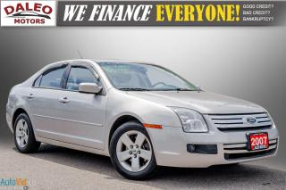 Used 2007 Ford Fusion SE | KEYLESS ENTRY | POWER LOCKS for sale in Hamilton, ON