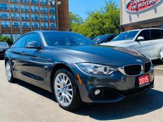 Used 2015 BMW 4 Series CLEAN CAR FAX | XDRIVE | SUNROOF | ONE OWNER | for sale in Scarborough, ON