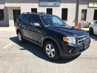 Used 2009 Ford Escape FWD 4dr V6 Auto XLT,LEATHER,NO ACCIDENTS,CERTIFIED for sale in Burlington, ON