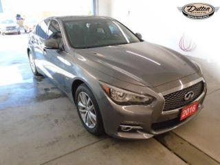 Used 2016 Infiniti Q50 2.0T for sale in Owen Sound, ON